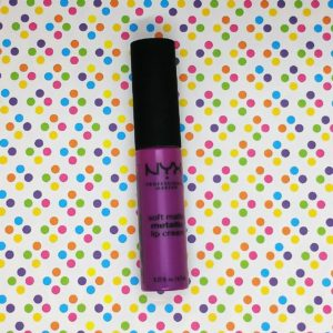f07d6e5b9c Review  Soft Metallic Matte Metallic Lip Cream by NYX Professional Makeup